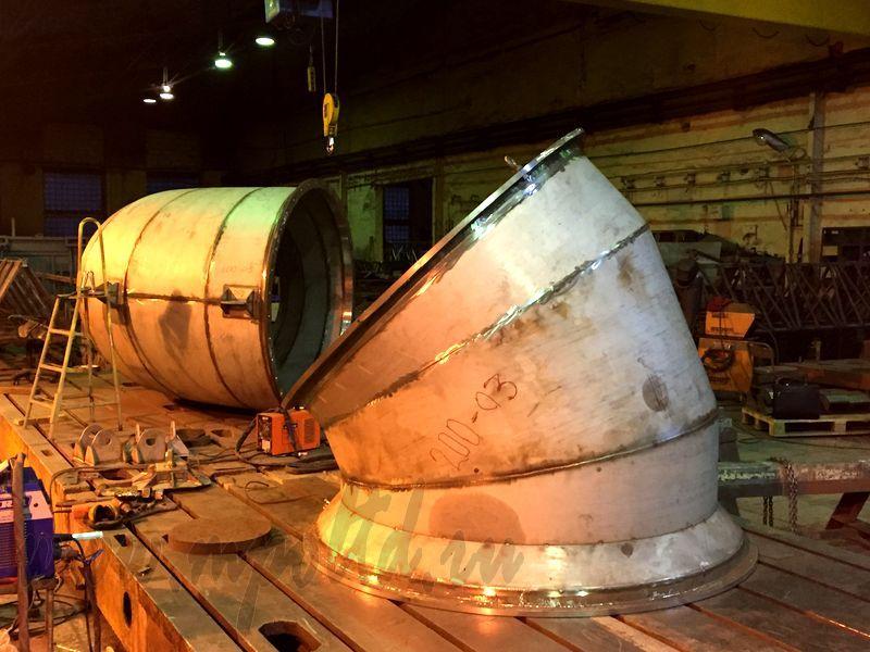 Изготовление аппаратов газоочистки «Машпром-Эксперт».
